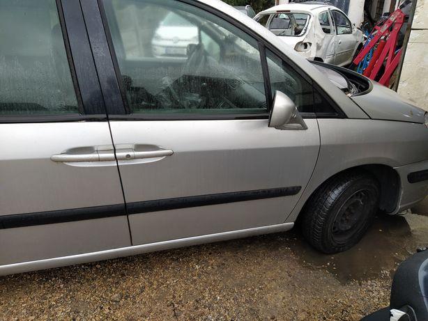 Peugeot 807 drzwi prawe przednie ezc kompletne