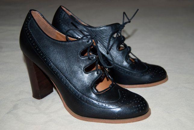 Стильные туфли из натуральной кожи европейского бренда Mint&berry