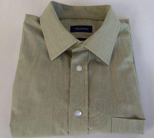 Męska koszula Taylor & Wright COLLAR krótki rękaw. Rozm.XL