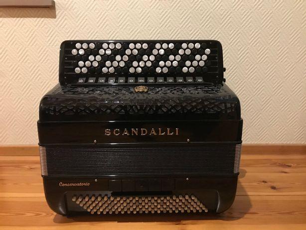 Akordeon Scandalli C442 z Gryfem B