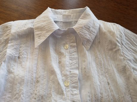 Bluzka biała r. 128.