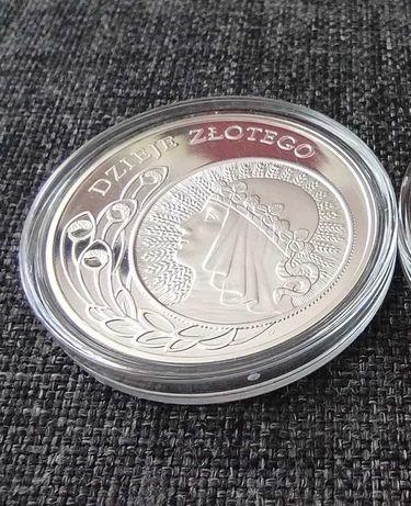 Dzieje złotego Srebro Nominał 10 zł