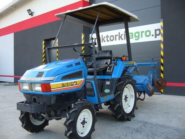 Traktorek , Ciągnik Ogrodniczy ISEKI 155 , 15KM Import z Japonii