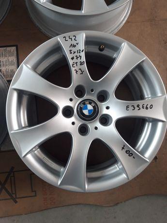 242 Felgi Aluminiowe BMW E39 R16 5x120 otwór 74 mm BARDZO ŁADNE