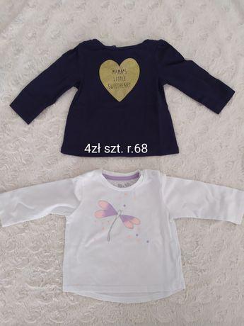 Bluzeczki, spodnie,dla dziewczynki,r.68