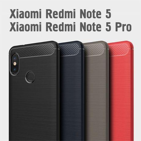 Чехол бампер для Xiaomi Redmi Note 5 / Note 5 Pro, 3 ЦВЕТА! новые