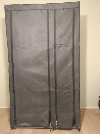 tekstylna szafa ubraniowa