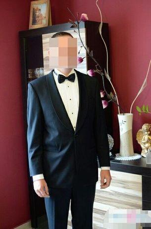 Smoking ślubny Aberto Renzino rozm.48 jak garnitur, frak