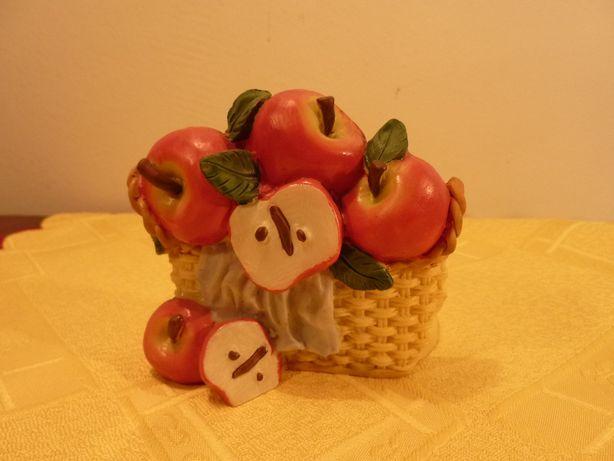 Świecznik Kosz z Jabłkami