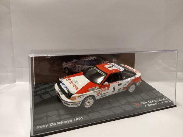 Miniatura Rally 1/43 Toyota Celica GT-4 1991