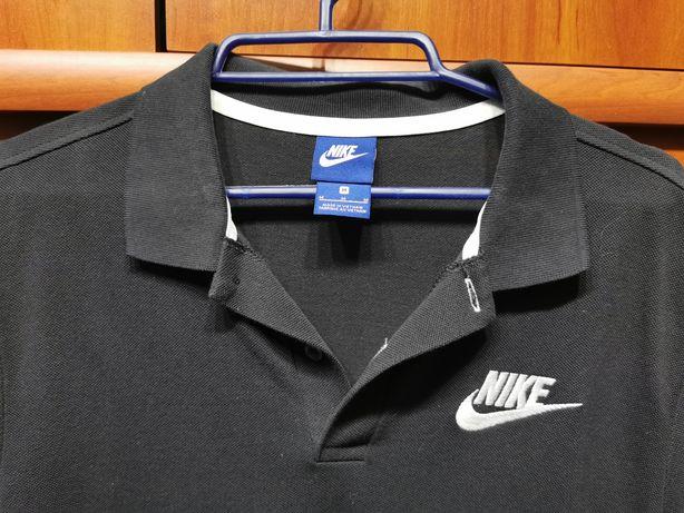 Czarne Polo Nike