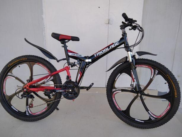 """Новый велосипед 26"""" TRIOBLADE (на дюралюминиевых ободах)"""