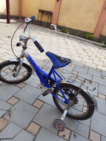 Велосипед со съёмными колесиками