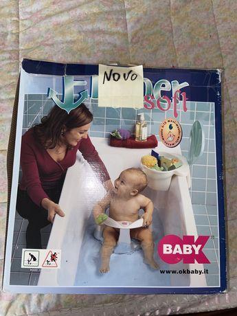 Cadeira de bebe para o banho