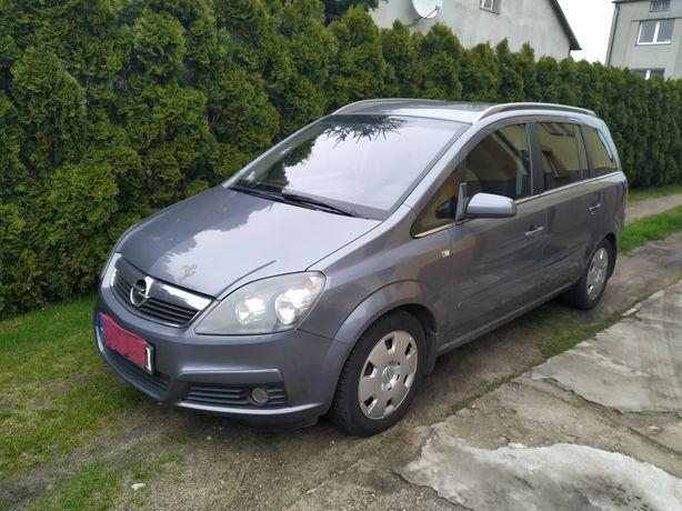 Opel Zafira 1,8 140 km , benzyna+gaz,klima ,7 osobowy , doinwestowany.
