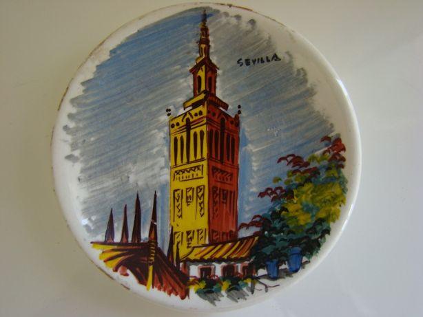 Prato decorativo de Sevilha