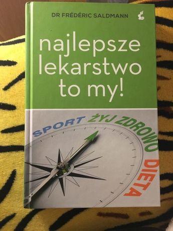 Książka ,,Najlepsze Lekarstwo to my ''15 zł