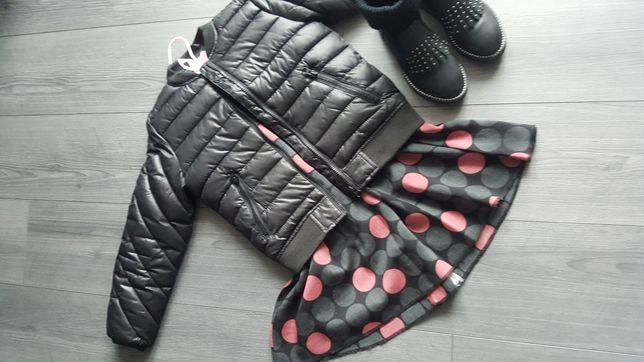 Теплое школьное платье