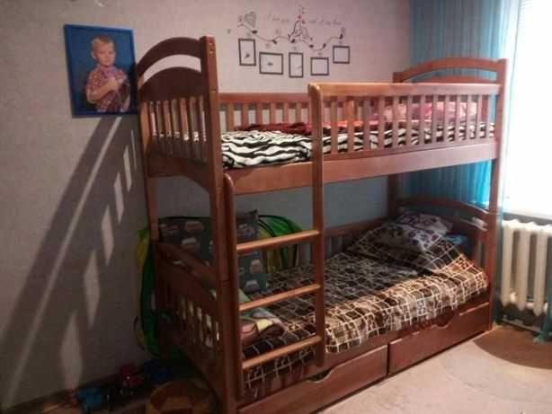 Двоярусне ліжко - трансформер, Двохярусне від виробника. Розпродаж