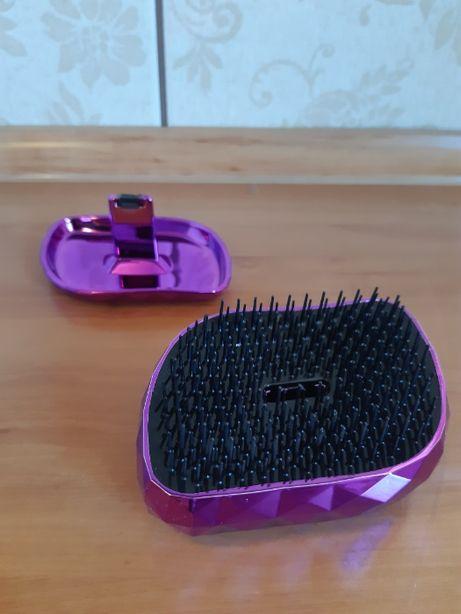 Fioletowa składana szczotka do włosów Tangle Teezer (NOWA)