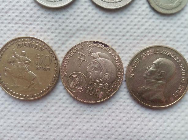 Юбилейные монеты Монголии