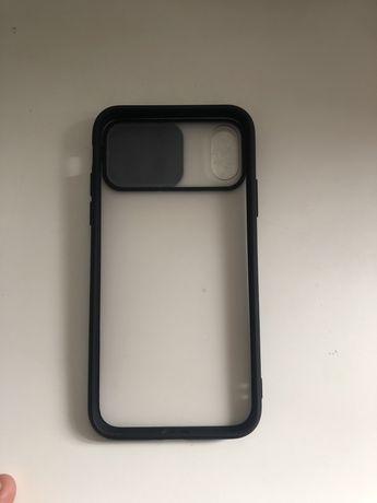 Capa para o IPhone X com protetor da câmara.