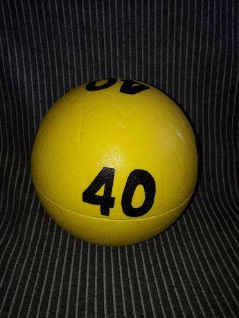 Kula styropianowa na 40 urodziny