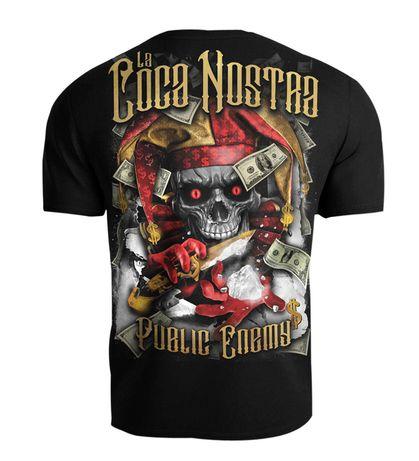 T-shirt Public Enemy - La Coca Nostra