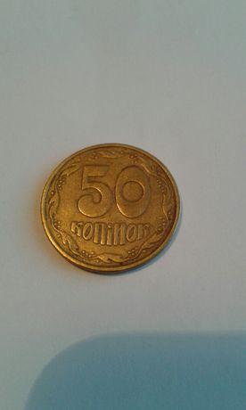 Продам монеты Украины 25 коп., 50 коп. 1992 года.