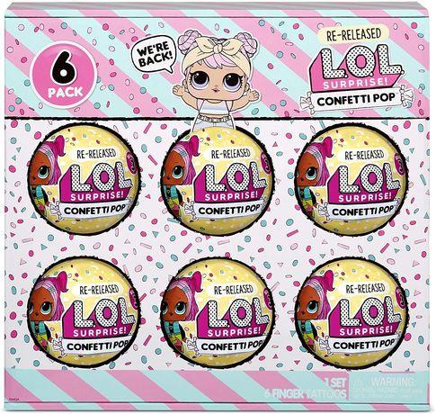L.O.L. Surprise Confetti Pop Шар Лол конфетти Winter Disco Fluffy Pets