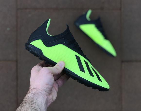 Сороконожки Adidas X Tango 18.3 TF 37р/23,6см не футзалки