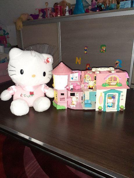 Domek Hello Kitty +wyposażenie