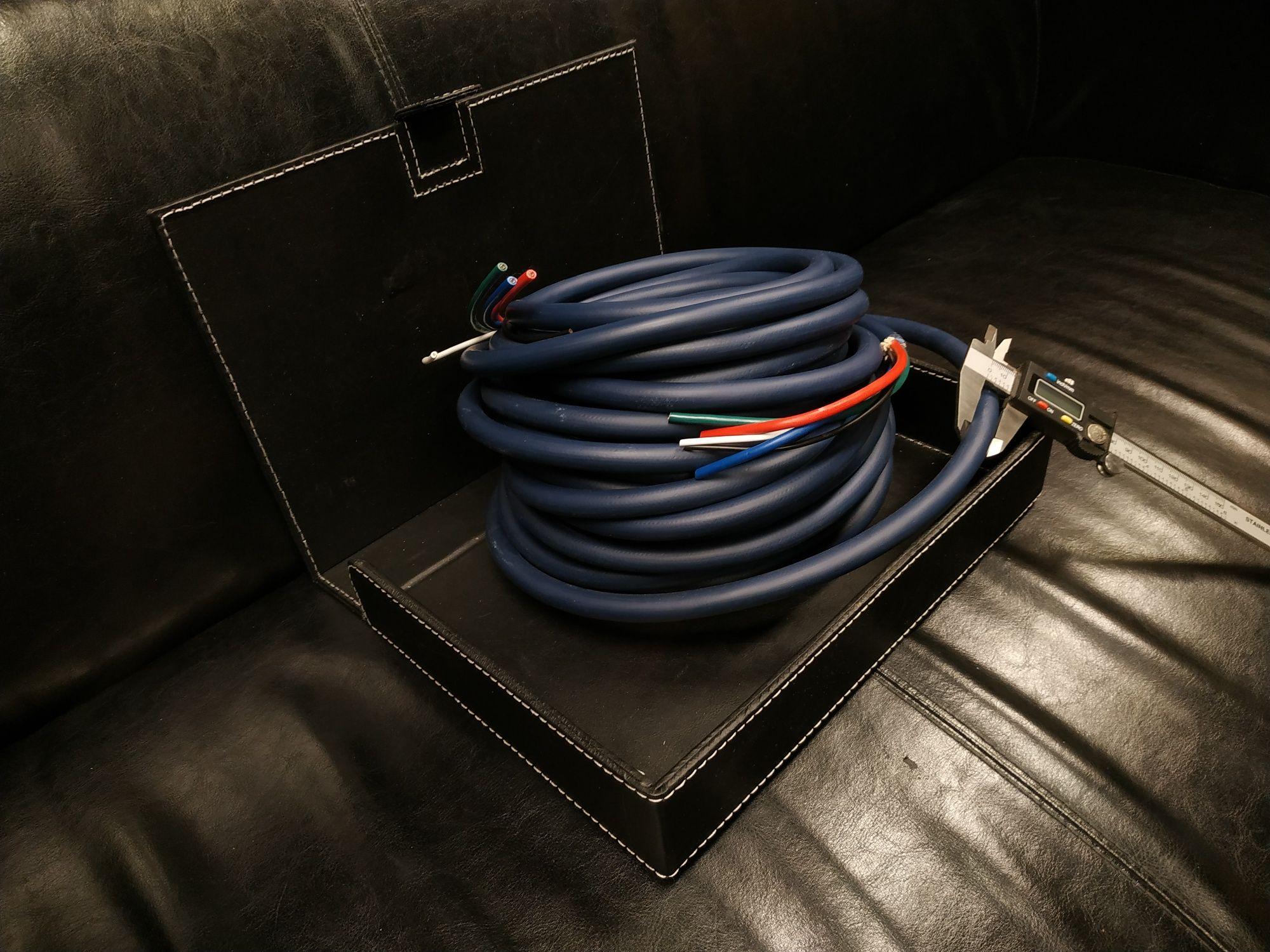Kabel przewód sygnałowy RCA XLR inne 5 żyłowy 3+2