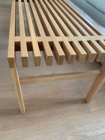 Banco em madeira maciça