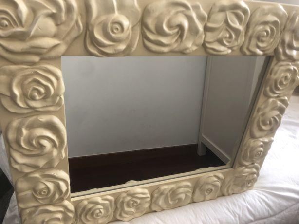 Espelho de decoracao praticamente novo