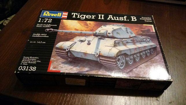 Model plastikow Tiger II Ausf. B 1:72 Revell