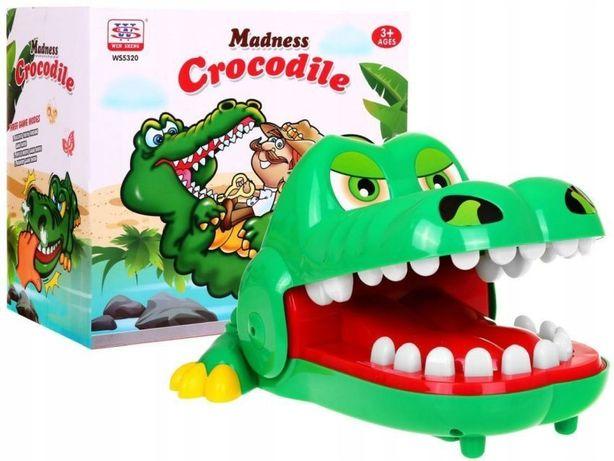 Gra Rodzinna Krokodyl U Dentysty Chory Ząbek Ws532