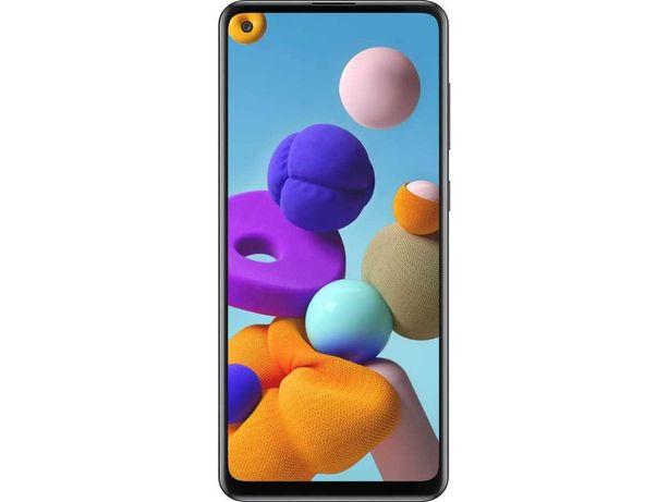 Samsung Galaxy A21s 32GB Preto NOVO garantia com capa e película NOVAS