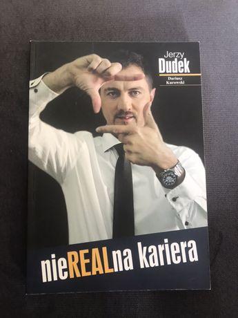 """Książka """"nieREALna kariera"""" Jerzy Dudek"""