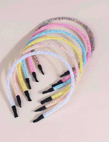 6 Bandoletes glitter brilho 6,90€ portes incluidos
