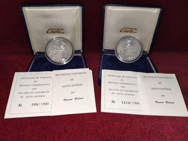 2 Medalhas Prata-Fina Giarte 1995