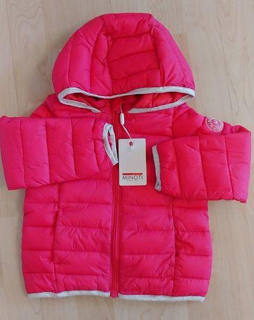 Демисезонная новая куртка Minoti 2-3 года 98 р.