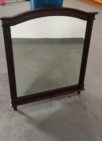 Espelho vintage castanho