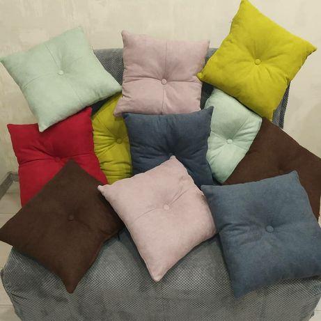 Подушки декоративные на диван.Диванные подушки.Декор на диван.40*40 см