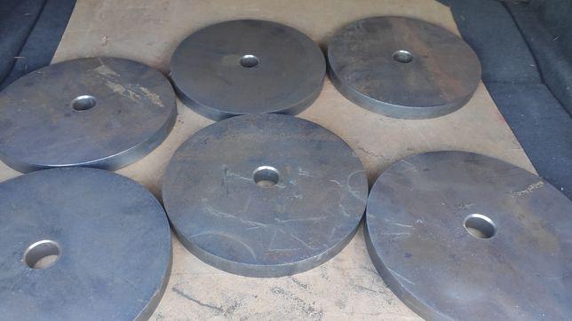 Obciążenie stalowe, krążki, siłownia, otwór ø31mm, 5 kg