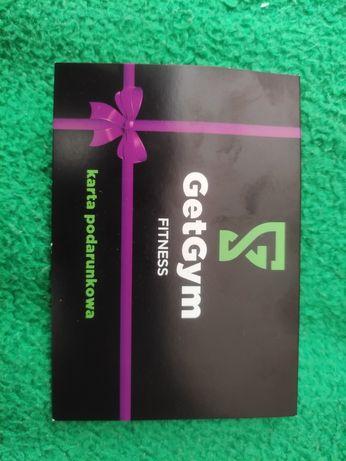 Karta podarunkowa silowania GetGym 1 miesiąc karnet Open
