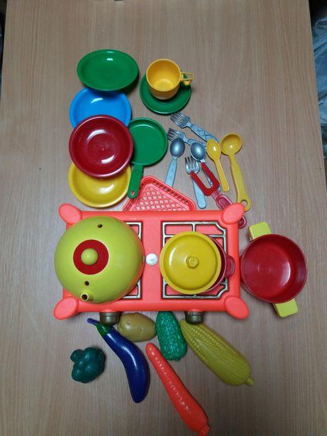 Набор детской посудьі