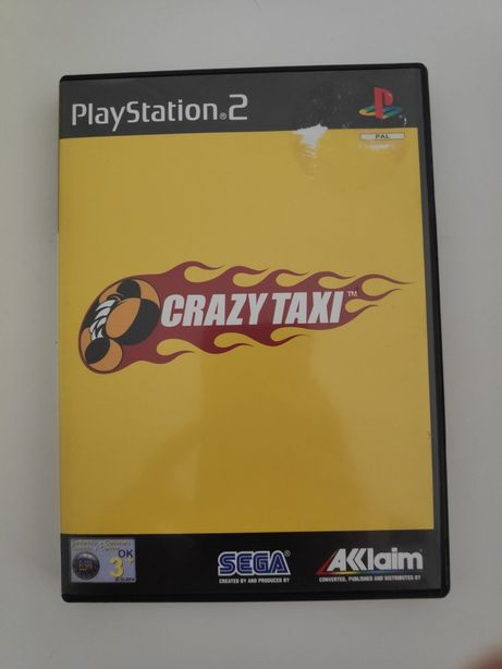 Crazy Taxi PS2 completo