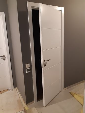 Двери скрытого монтажа, двери на заказ