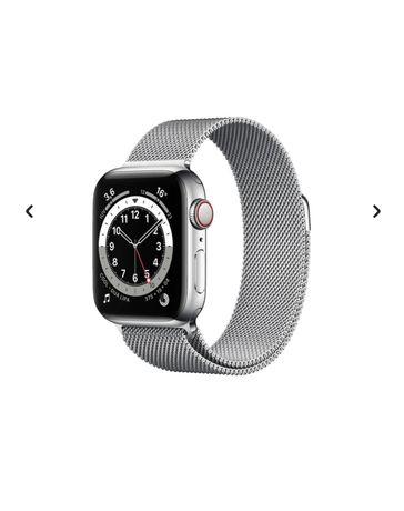 Apple watch series 5 44mm Aço Inox GPS+Celular